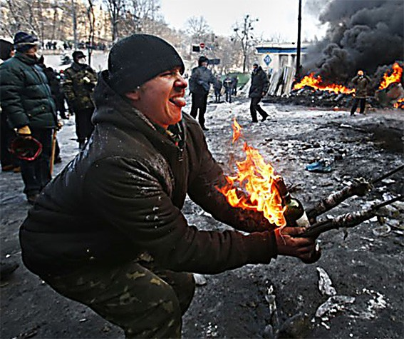 Мурло Евромайданина